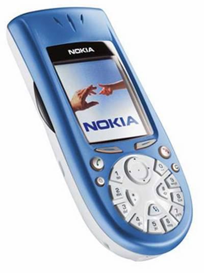 Un celular  de un modelo anterior modelo curvilineo que   fue un desastre