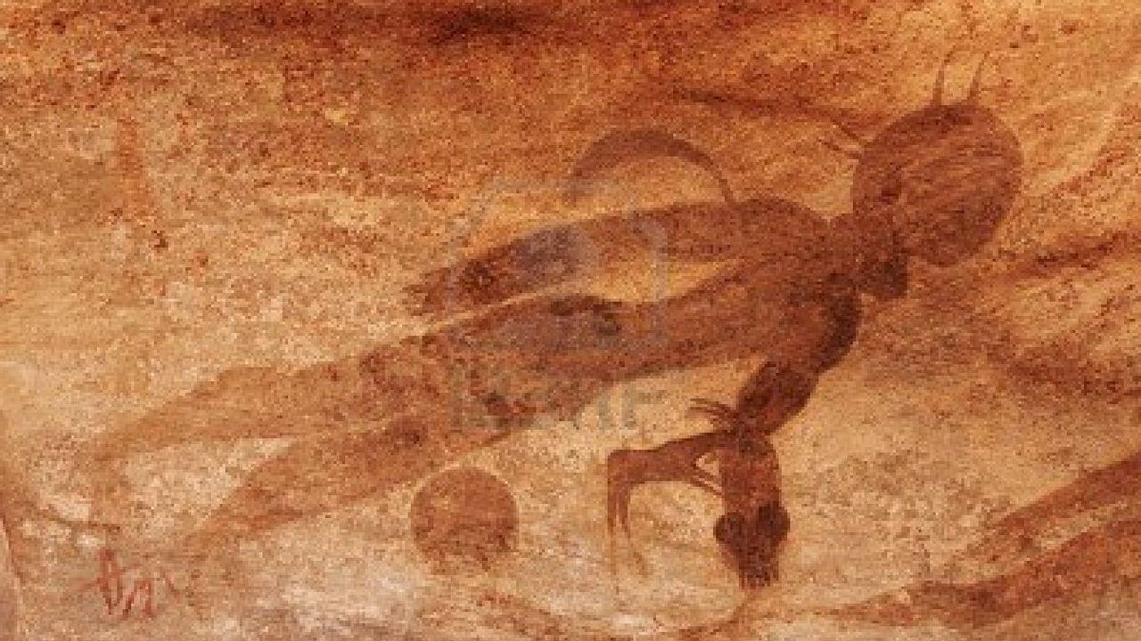 16 Imagenes de OVNIs en la Antigüedad Sin Explicación Actualmente