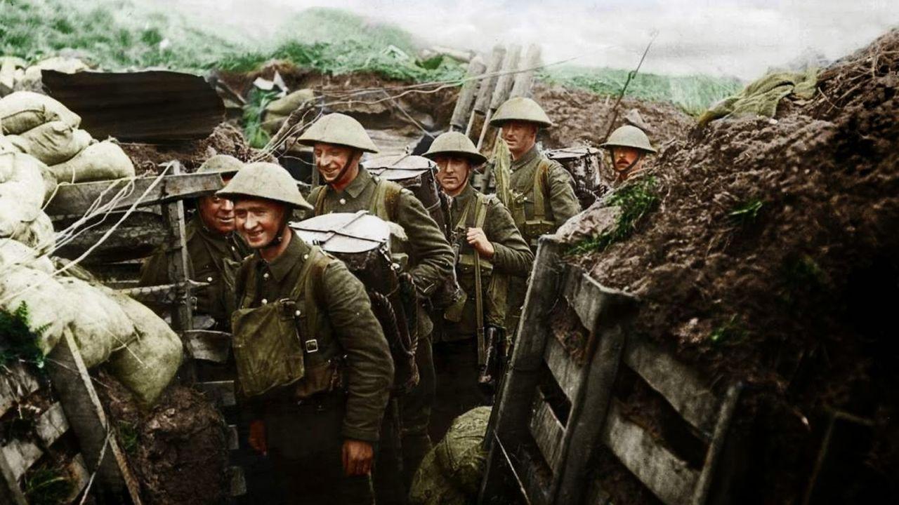 20 Imágenes a Color de la Primera Guerra Mundial Poco Conocidas