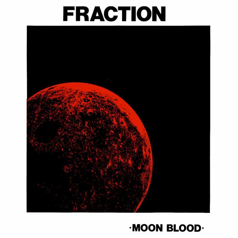 Una luna roja donde se lee luna de sangre