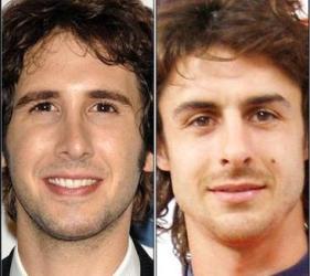 Vemos ados rostros de hombres que sonrien  tranquilamente