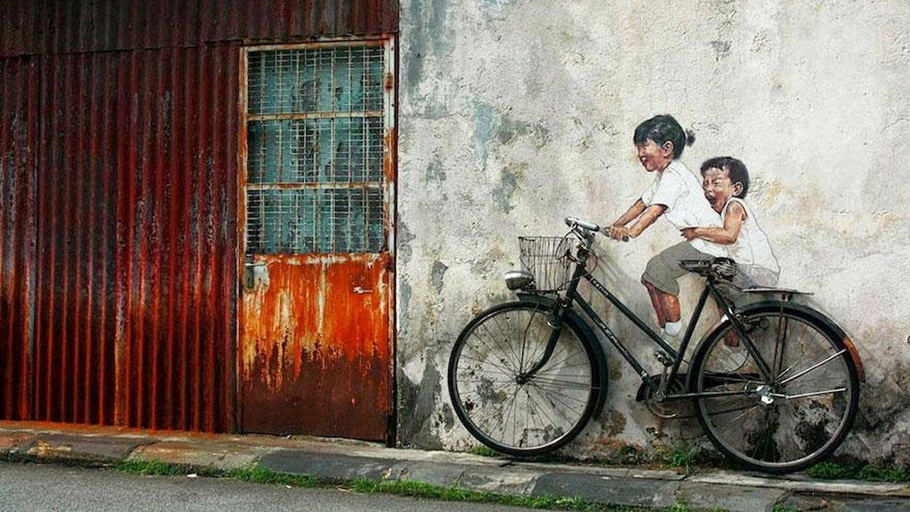 28 piezas de arte callejero que interactúan con sus entornos