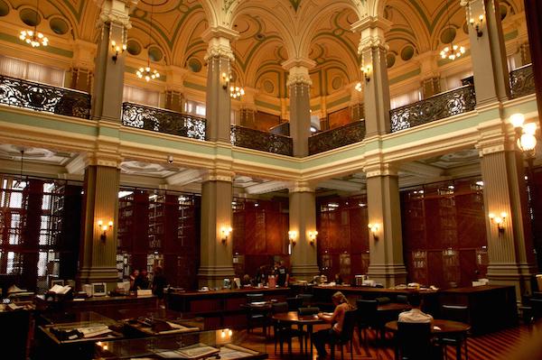 30 bibliotecas con una arquitectura impresionante - 1