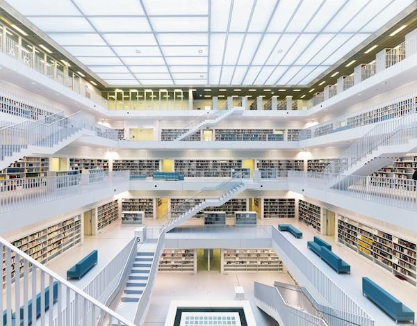 30 Bibliotecas con una arquitectura impresionante - 18