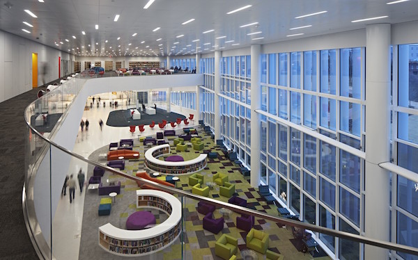 30 Bibliotecas con una arquitectura impresionante - 22