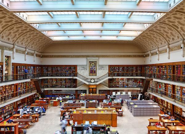 30 Bibliotecas con una arquitectura impresionante - 23