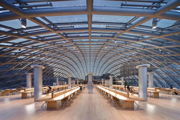 30 Bibliotecas con una arquitectura impresionante - 26