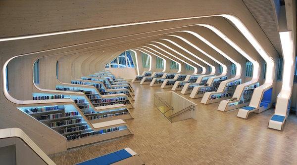 30 Bibliotecas con una arquitectura impresionante - 7