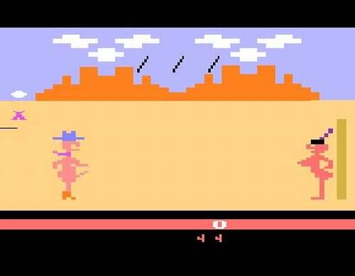 Vemos la imagen de un vídeo juego donde vemos dos imagines de ella