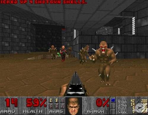 Vemos la imagen de un vídeo juego unos monstruos que avanzan hacia su objetivo