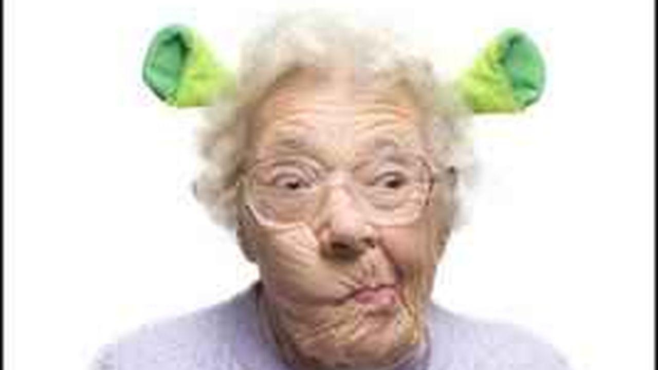 ¿A quien no le gustaría una abuela como esta?