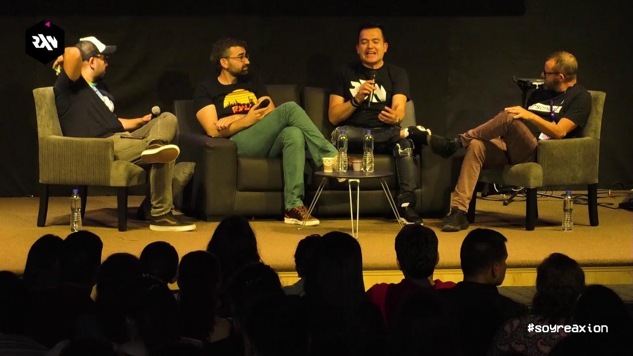 Alex Sampedro, Félix Ortiz y Paco Palafox Charlando