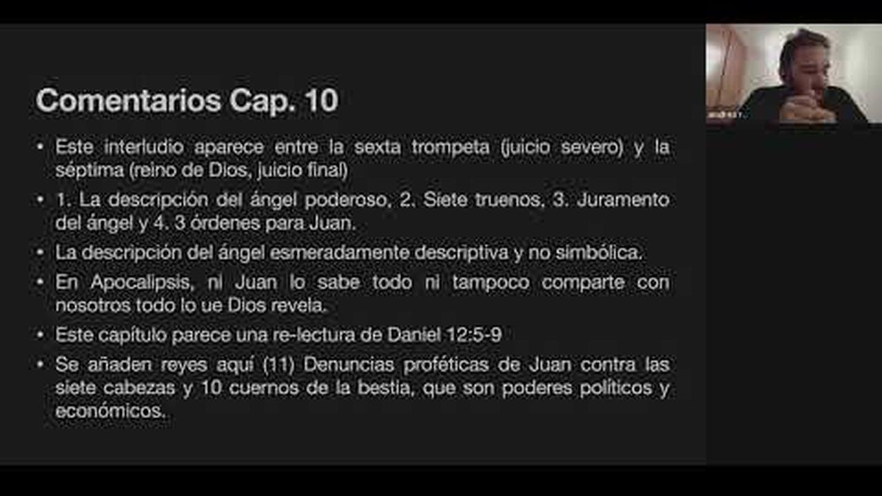 Apocalipsis | Capitulo 10 | Estudo Bíblico Online