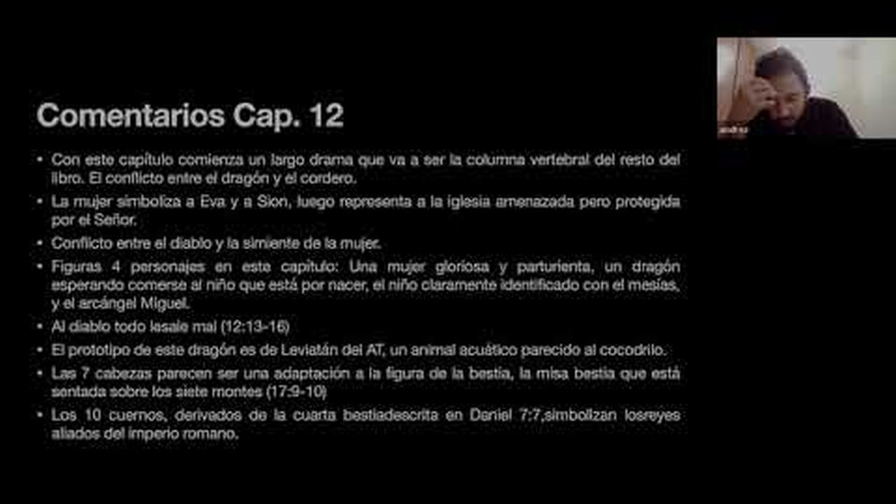 Apocalipsis | Capitulo 12 | Estudio Bíblico Online