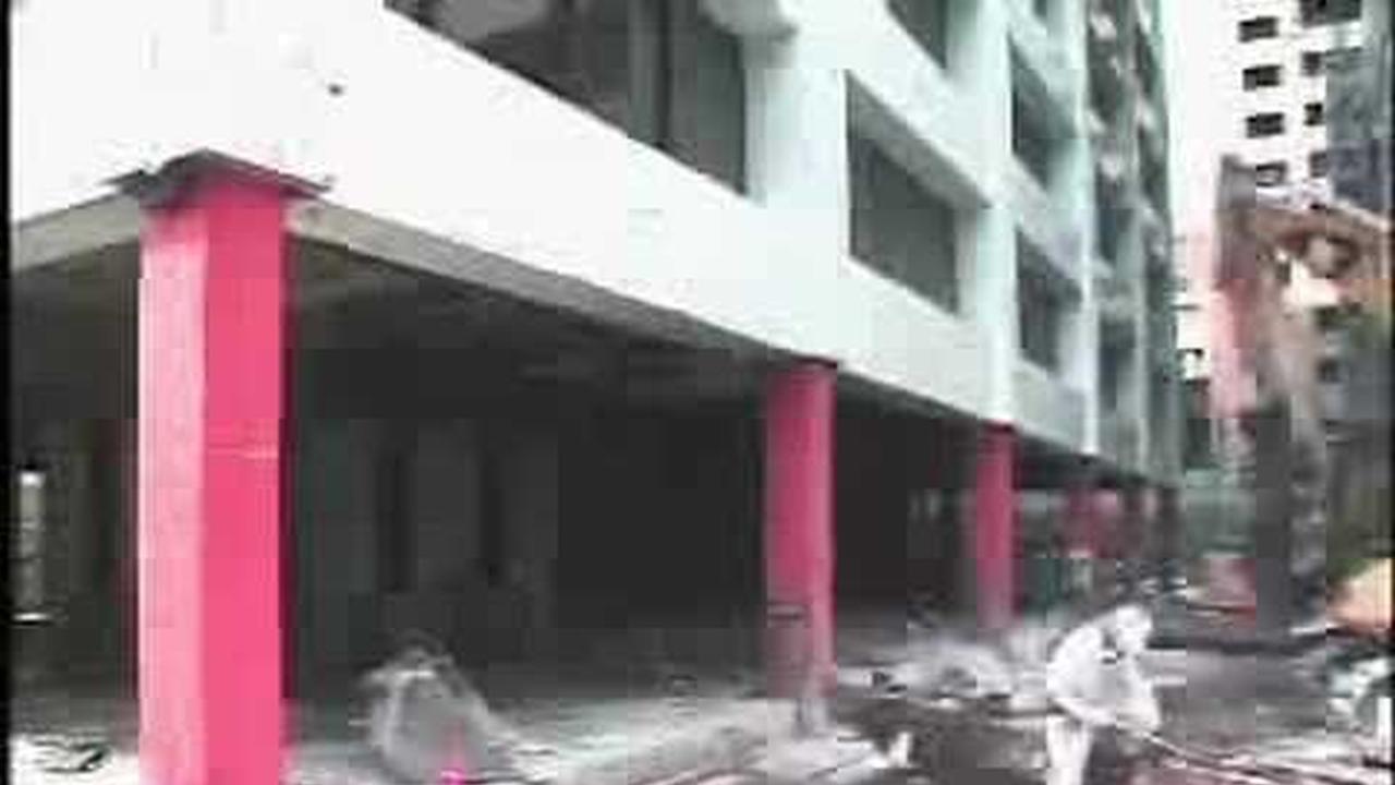 Como demoler un edificio un piso a la vez