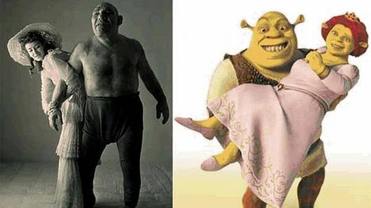 Conozcan a Maurice Tillet, el Shrek del mundo real