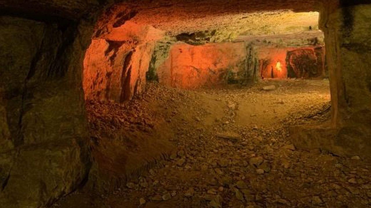 La Cueva de Sedequías, Jerusalén Oriental, Israel
