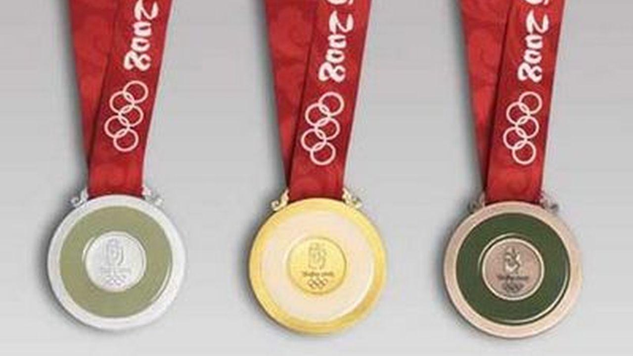 Diseño de las medallas olímpicas 2008