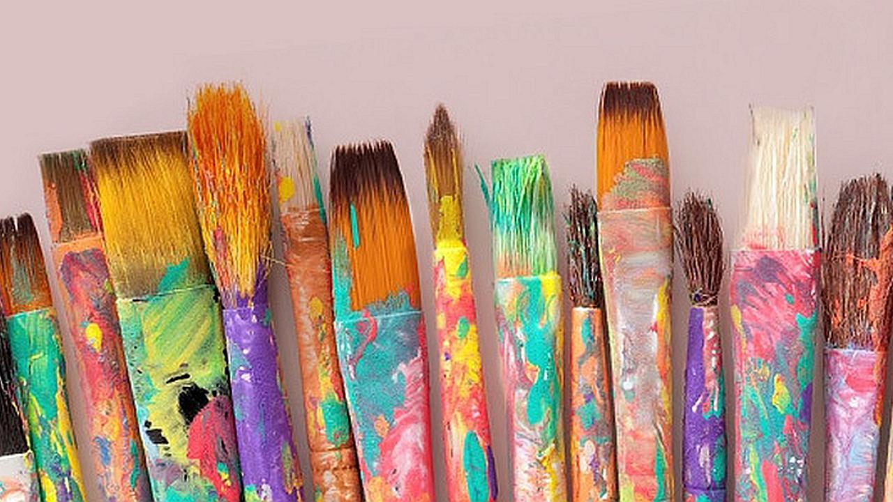 El artista supremo pinta cada dia