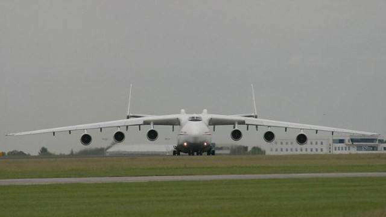 El avión más grande y pesado del mundo