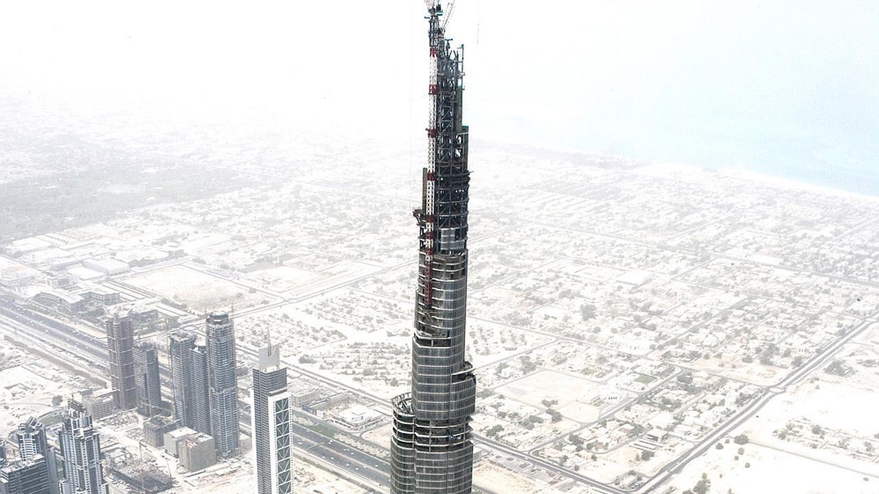 El Burj Dubai el edificio más alto del mundo en el 2008