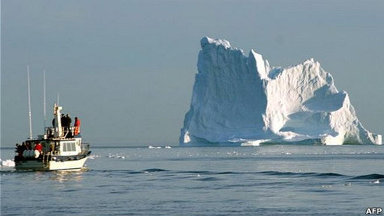 El iceberg que hundio al Titanic