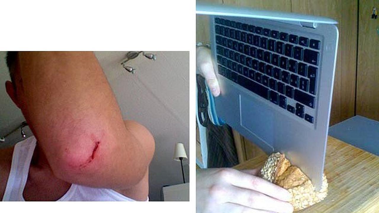 ¿El MacBook Air ahora puede ser usado como cuchillo?
