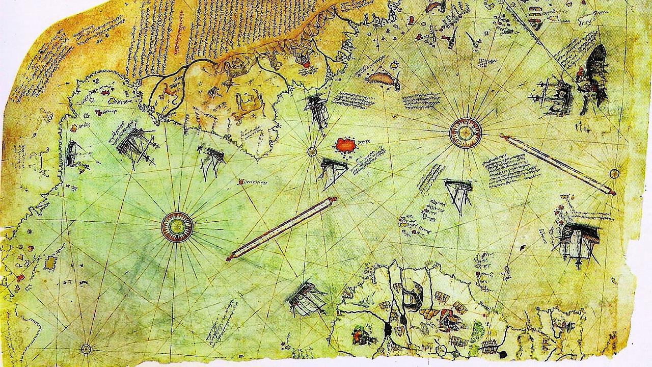 El mapa de Piri Reis
