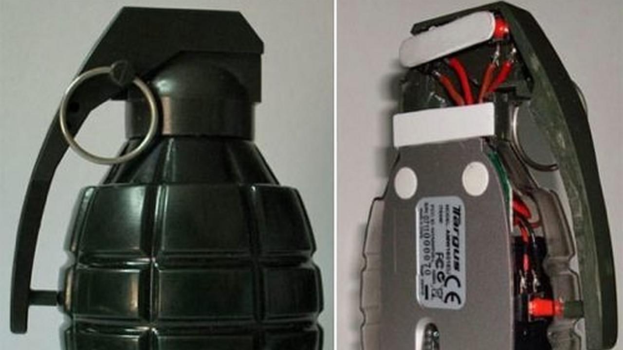 El mouse granada trae estilo a tu aburrido ratón de computador