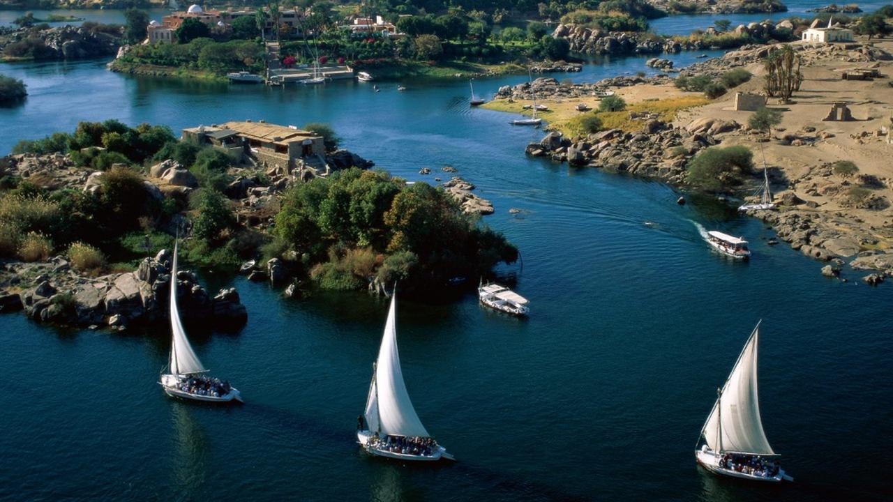 El Nilo Azul y El Nilo Blanco
