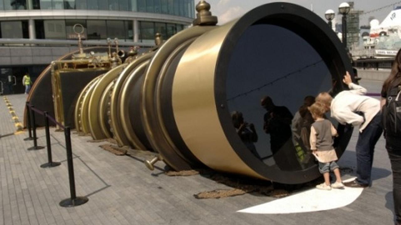 El telescopio que conecta a Londres con Nueva York