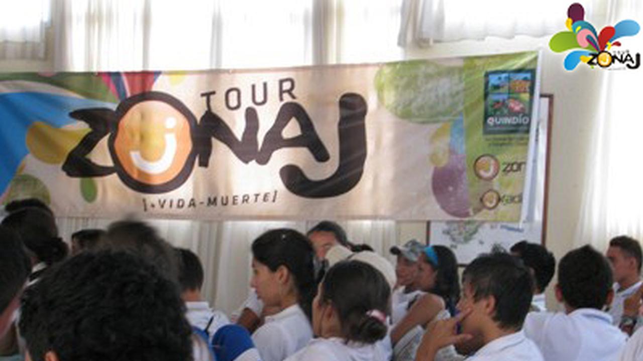 El Tour Zonaj en Quimbaya