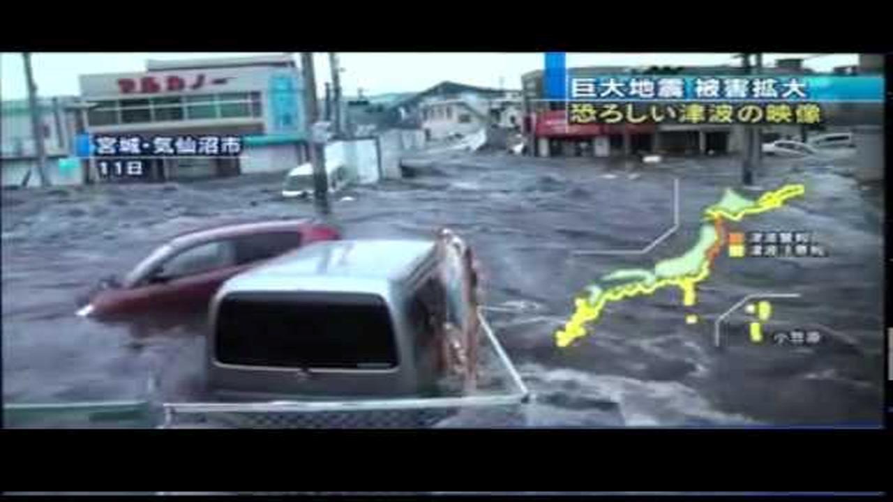 El video mas impresionante del tsunami en Japon