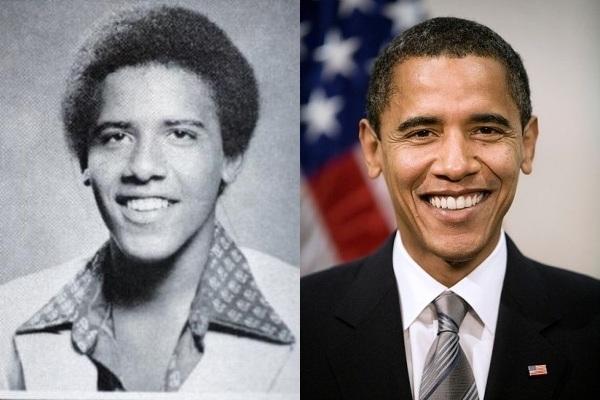 Vemos a un joven afro descendiente que sonrie y al lado el mismo con paso del tiempo pero bien