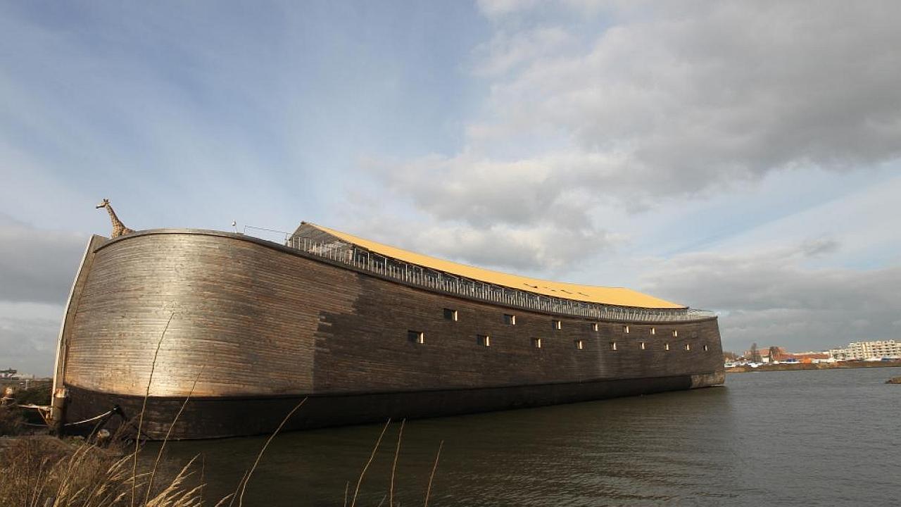 En Holanda construyen replica del arca de Noé en tamaño real