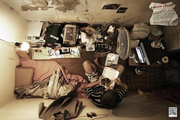 Un cuarto no muy apretado para una persona