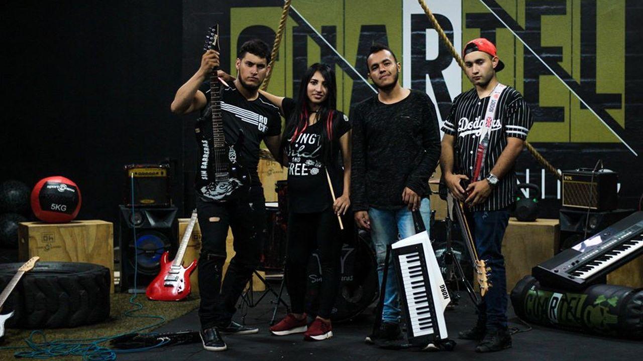 Entrevista a la banda Sin Barreras