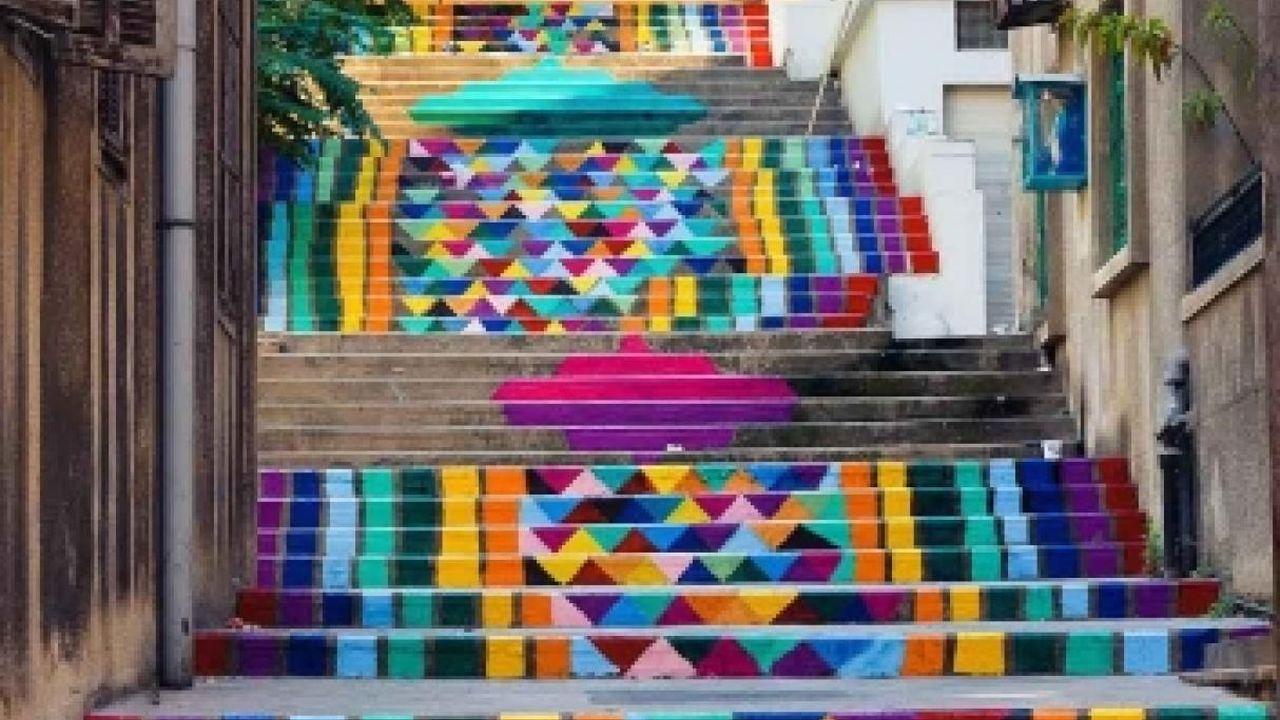 15 Escaleras mágicas con Diseños muy Llamativos
