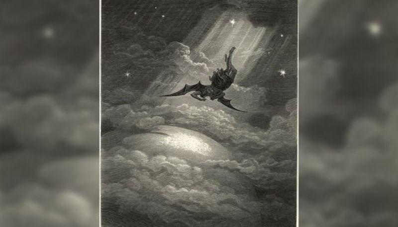 Imagen mostrando un angel caído