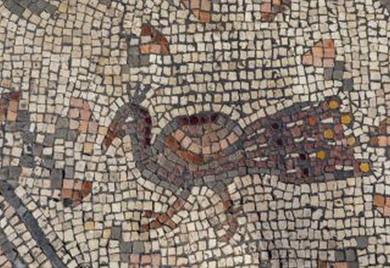 Mosaico en el piso