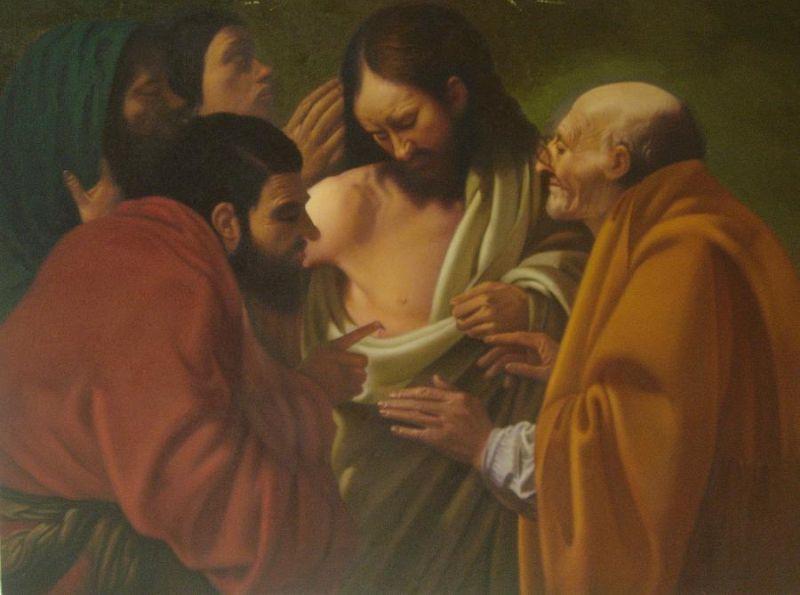 Tres hombres en aparente Discusión