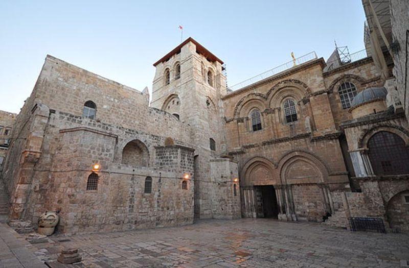 Foto a la Iglesia del Santo Sepulcro