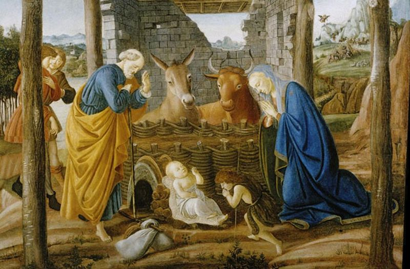 Imagen del aparente lugar de nacimiento de jesús
