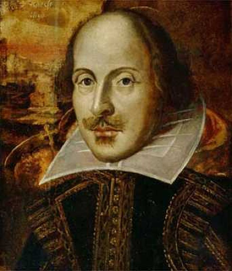 Retrato de William Shakespeare