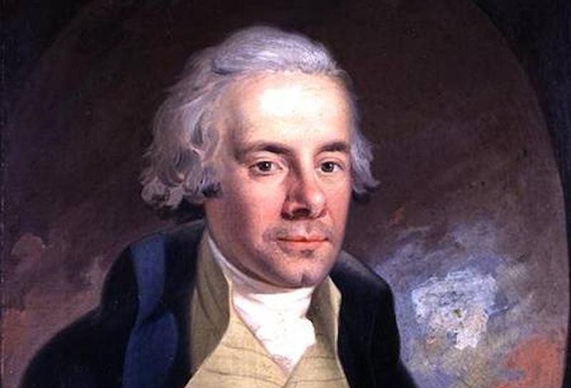 Un hombre con la apariencia típica de un inglés aristocrático en la Inglaterra del siglo XVIII