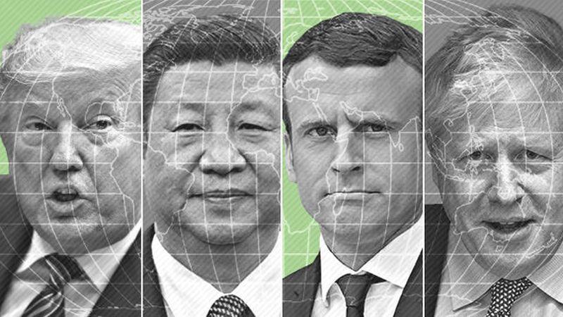 4 presidentes een una misma imagen