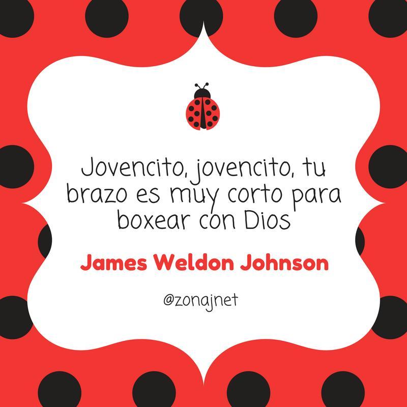 UN fondo rojo con puntos negros y dentro un fondo blanco con um mensaje y un pequeño cucarron rojo con puntos negros