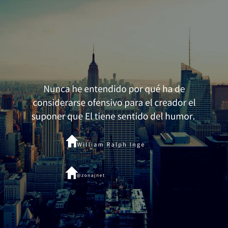 Vemos una ciudad con rascacielos y otros edificios muy altos y sobre ese fondo un mensaje  en letras blancas