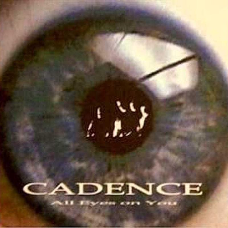 Una carátula en color oscuro y un gran ojo y la palabra cadence