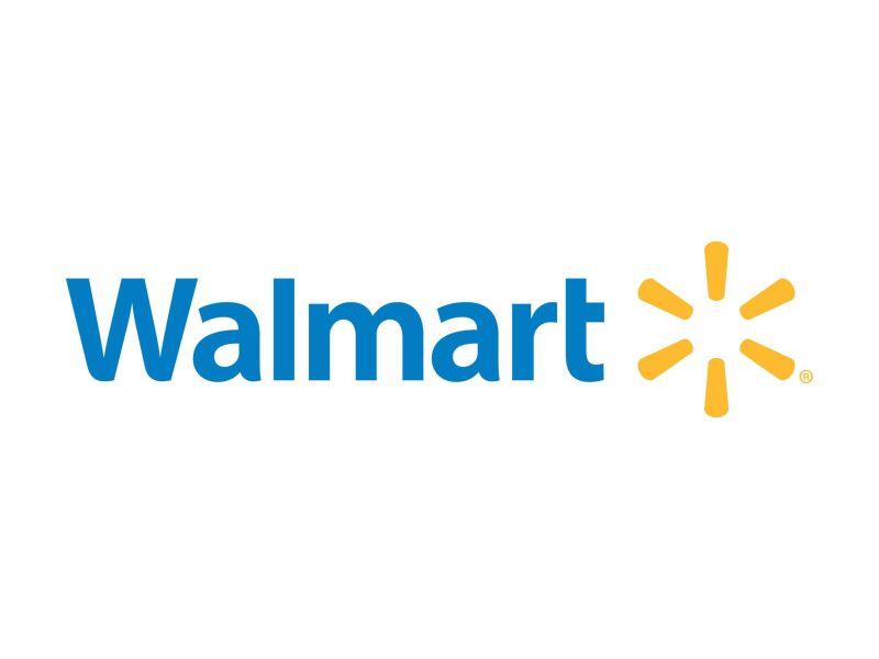 Imagen que muestra el logo de Walmart y varias lineas amarillas